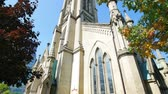 canadense : Exterior view of the famous Cathedral Church of St. James at Toronto, Canada
