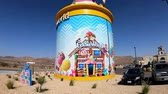 sunny side up : Yermo, OCT 14: The Giant Ice Cream Sundae of Eddie World on OCT 14, 2018 at Yermo, California