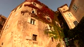 french street : Morning view of some beautiful building in Eze Village near Nice, at France