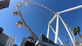 las : Las Vegas, OCT 12: Morning view of the famous High Roller of Linq on OCT 12, 2018 at Las Vegas, Nevada