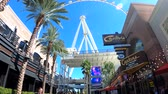 las vegas strip : Las Vegas, OCT 12: Morning view of the famous High Roller of Linq on OCT 12, 2018 at Las Vegas, Nevada