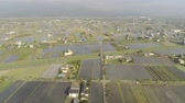 cipreste : Aerial view of the rural landscape of Yilan, Taiwan