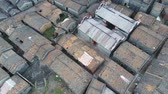 provincie : Aerial view of the Bagua Village of Licha Cun at Zhaoqing, China Dostupné videozáznamy