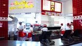 las : Los Angeles, MAY 12:  Counter of the famous In n Out burger on MAY 12, 2019 at Los Angeles, California