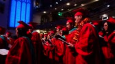 campus universitario : Los Angeles, MAY 10: Graduation Ceremony of University of Southern California on MAY 10, 2019 at Los Angeles, California