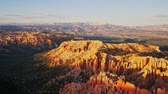 известный : Beautiful sunset view of the Bryce Canyon National Park at Bryce Point, Utah