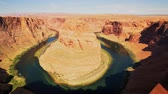 известный : Morning view of the beautiful Horseshoe Bend at Page, Arizona