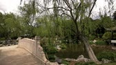 biblioteka : Chinese Style Garden in Huntington Library at Los Angeles, California
