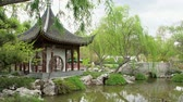 biblioteka : Chinese Garden of Huntington Library at Los Angeles, California