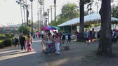 vendor : Los Angeles, JUL 13: Many vendors in the Lotus Festival Echo Park on JUL 13, 2019 at Los Angeles, California