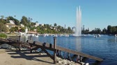 los Angeles, JUL 13: Launch site of the Lotus festival Echo Park on JUL 13, 2019 at Los Angeles, California