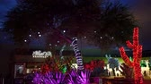 weihnachtszeit : Night view of many Christmas lights at Henderson, Nevada