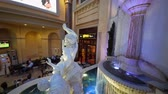 foro : Las Vegas, SEP 25: Interior view of the The forum shops of Caesars Palace on SEP 25, 2019 at Las Vegas, Nevada