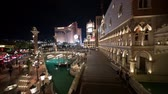 proužek : Las Vegas, SEP 25: Night exterior view of the Venetian Casino Hotel on SEP 25, 2019 at Las Vegas, Nevada