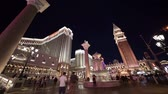tira : Las Vegas, SEP 25: Night exterior view of the Venetian Casino Hotel on SEP 25, 2019 at Las Vegas, Nevada