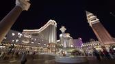 kasino : Las Vegas, SEP 25: Night exterior view of the Venetian Casino Hotel on SEP 25, 2019 at Las Vegas, Nevada