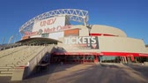 gerçek zamanlı : Las Vegas, NOV 23:   Exterior view of the famous Thomas & Mack Center on NOV 23, 2019 at Las Vegas, Nevada