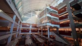 biblioteka : Las Vegas, NOV 23:   Interior view of the famous Lied Library of UNLV on NOV 23, 2019 at Las Vegas, Nevada Wideo