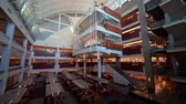 教育 : Las Vegas, NOV 23:   Interior view of the famous Lied Library of UNLV on NOV 23, 2019 at Las Vegas, Nevada 影像素材