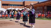colar : Albquerque, OCT 5: People dancing in traditional Zuni Culture performance on OCT 5, 2019 at Albquerque, New Mexico