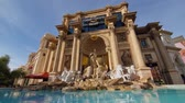 exteriors : Las Vegas, JAN 10: Morning view of the Apollo Fountain of the Forum Shops at Caesars on JAN 10, 2020 at Las Vegas, Nevada