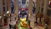 weihnachtszeit : Las Vegas, DEC 17:  Interior view of The The Palazzo Casino on DEC 17, 2019 at Las Vegas, Nevada