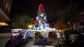 távozás : Las Vegas, DEC 21: Night golf cart parade in Lake Las Vegas Area on DEC 21, 2019 at Las Vegas, Nevada