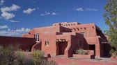 Beautiful Painted Desert Inn of Petrified Forest National Park at Arizona