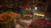 távozás : Las Vegas, DEC 12: Interior view of the Sams town in Christmas decoration on DEC 12, 2019 at Las Vegas, Nevada