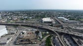 коммутирующих : Aerial view of the pontchartrain expressway in New Orleans Louisiana