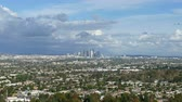 clareira : Downtown Los Angeles cityscape time lapse from popular Baldwin Hills State Park.