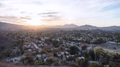 time : Time Lapse of the Suburban Los Angeles community of Thousand Oaks, California. Stock Footage