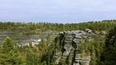 saxon switzerland : The beautiful view of nature. Stock Footage