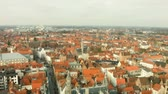 salvator : Top view of the city of Bruges, Belgium.