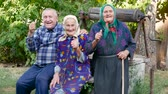 confirmar : Older people are fooling around. Make LIKE gesture