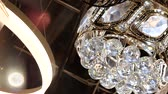 extractor : Classic shiny diamond chandelier. Luxury life concept with bling bling shining reflection