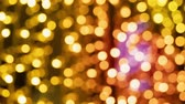 diamant : Blurred warm christmas lights bokeh background with gradient. Out of focus Dostupné videozáznamy