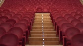 음악 : Empty theater with red chairs