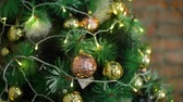 no idea : Close-Up Shot of Christmas Decorations Stock Footage