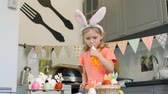 начинка : Girl Tasting Cream while Decorating Cookies