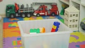 bidone : Little Boy Clean Up his Room from Toys