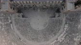 문명 : Very ancient building. Aspendos, a Greek amphitheater 무비클립