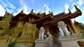 lanna : 4K time lapse video of San Pa Yang Luang temple, Thailand.