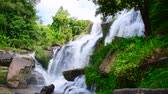 doi inthanon : 4K video of Mae Klang waterfall, Thailand.