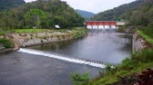 hidro : 4K video of Kiew Lom dam, Thailand.
