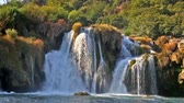 Krka waterfall in Croatia