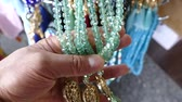 rosário : prayer beads, green prayer beads, islamic symbols and prayer beads,