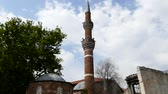 Islamic architecture and ankara Hac%u0131 Bayram Veli Mosque and tomb Stock Footage