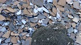 rottami : construction waste, stone, brick and tile waste, environmental pollution,