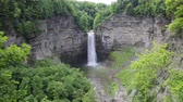 romance : Taughannock Falls - New York Wideo